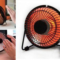 فروش هیتر برقی مدل پنکه – بخاری برقی فن دار رومیزی