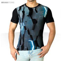 تی شرت سه بعدی Hex – تیشرت آستین کوتاه مردانه