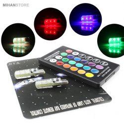 لامپ خودرو مدل Multi Color – لامپ کنترلی چندرنگی
