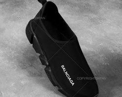 فروش کفش مردانه Balenciaga مدل Elach رنگ مشکی