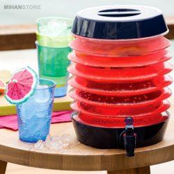 فروش کلمن تاشو – ظرف کوچک نگهدارنده مایعات با حمل آسان