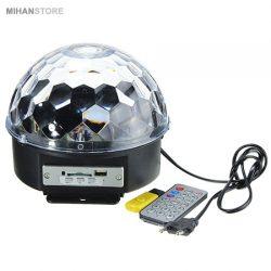 دستگاه رقص نور اسپیکردار – رقص نور چرخان پخش کننده موزیک
