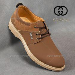 کفش مردانه Gucci مدل Holstad (قهوه ای)  – کفش رسمی مردانه