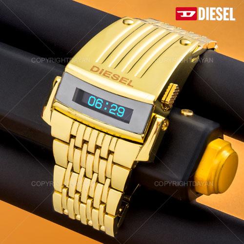 ساعت مچی مردانه Diesel مدل Sedan - ساعت فلزی دیجیتالی