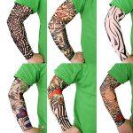 فروش ساق دست طرح تاتو - خرید ساق دست طرح دار