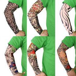 فروش ساق دست طرح تاتو – خرید ساق دست طرح دار