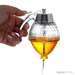 فروش عسل ریز هانی پات – ظرف کوچک شفاف مخصوص عسل