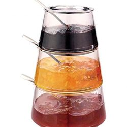 فروش مربا خوری ۳ طبقه پیرکس – ظرف شیشه ای مربا