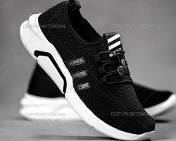 فروش کفش مردانه Kalvari رنگ مشکی - کتانی مردانه کالواری