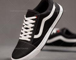 فروش کفش مردانه Vans مدل Pelazo (مشکی و سبز)