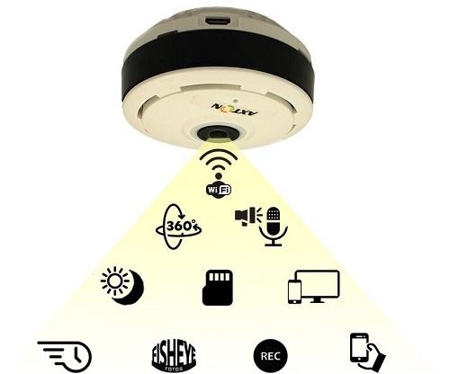 فروش دوربین مداربسته سقفی بیسیم WIFI رم خور مدل M9022X