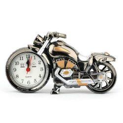 فروش ساعت دکوری طرح موتور سیکلت – ساعت کوچک زنگ دار