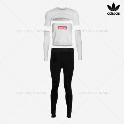 فروش ست نیم تنه و شلوار زنانه آدیداس Adidas مدل Z7095