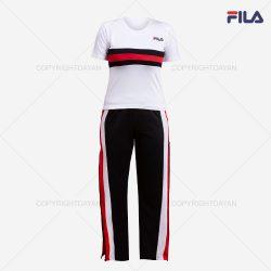 فروش ست تیشرت و شلوار زنانه Fila مدل D1126  – پوشاک زنانه