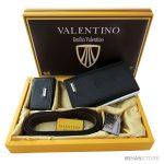 فروش ست کیف، کمربند و جاکلیدی Valentino - ست هدیه مردانه