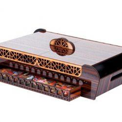 جعبه چای کیسه ای مدل نارون  – جعبه و سینی چوبی دمنوش