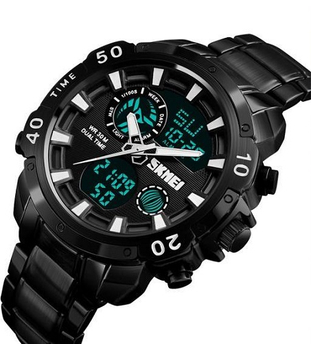 فروش ساعت مچی عقربه ای مردانه اسکمی مدل 1306