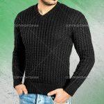 فروش بافت مردانه Kartel - بافت مردانه آستین بلند یقه هفت