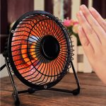 فروش هیتر برقی مدل پنکه Wanjun- بخاری برقی رومیزی