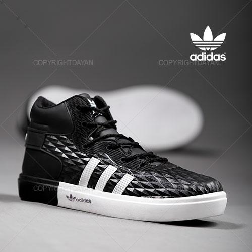 فروش کفش ساقدار مردانه Adidas مدل K1155 (مشکی)