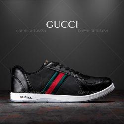 فروش کفش مردانه Gucci مدل K1104 (مشکی و سفید)