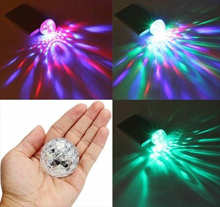 لامپ LED رقص نور موبایل اندروید به همراه رابط OTG