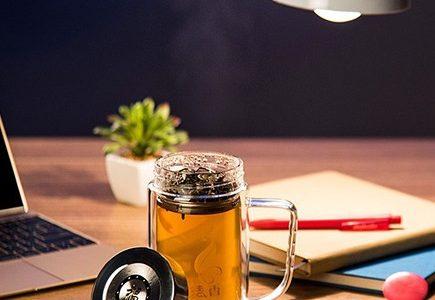 فروش لیوان دمنوش دو جداره - لیوان شیشه ای دمنوش