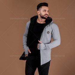 فروش شنل خزدار مردانه Gucci مدل T4307 – لباس گرم