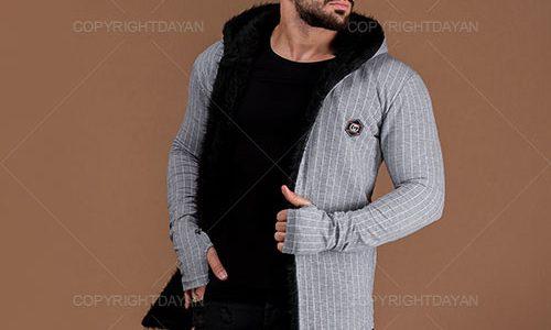 فروش شنل خزدار مردانه Gucci مدل T4307 - لباس گرم