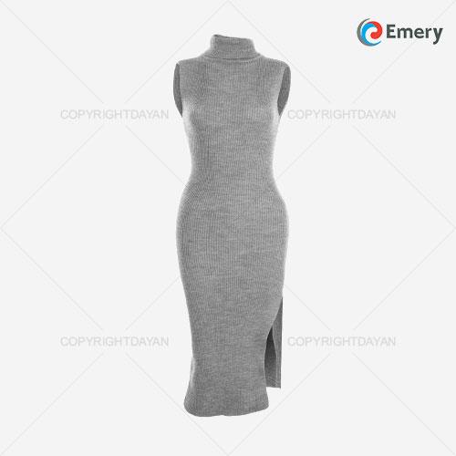 سارافون بافت زنانه Emery مدل L3228 - لباس گرم زنانه