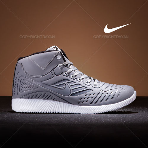فروش کفش ساقدار مردانه Nike مدل Q1177 رنگ فیلی
