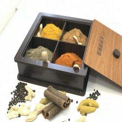 فروش باکس و جعبه چوبی ادویه و دمنوش و تی بگ