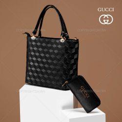 ست کیف زنانه Gucci مدل I3500 – کیف دستی ،رودوشی و پول