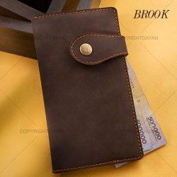 کیف پول و موبایل و کارت پالتویی Brook مدل N8707