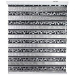 پرده کرکره ای زبرا زیو کد ۵۹۷ سایز ۱۸۰ × ۱۳۵ سانتی متر