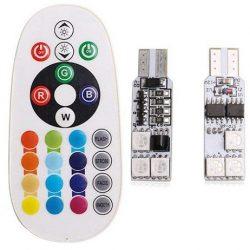 لامپ اس ام دی با قابلیت تغییر رنگ و حالت نوردهی مدل L02 بسته ۲ عددی