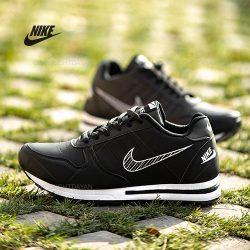 کفش مردانه نایک Nike مدل K9101 رنگ مشکی و سبز