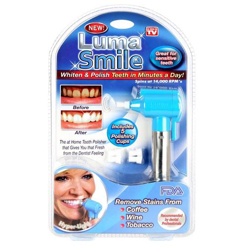 دستگاه پوليش و سفید کننده دندان و جرم گیر luma smile