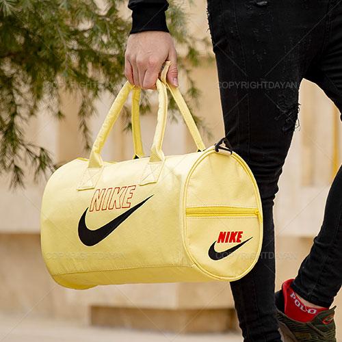 ساک ورزشی نایکی Nike مدل N8814 رنگبندی زرد