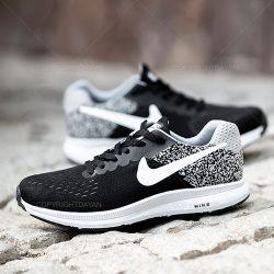 کفش مردانه نایکی Nike مدل K8950  کف دوخت سفید مشکی