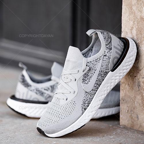 کفش مردانه نایکی Nike مدل Q8951 کف دوخت خاکستری