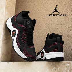 کفش ساقدار مردانه جردن Jordan مدل K9254 مشکی
