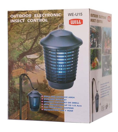 حشره کش برقی ول مدل WE-U15 - لامپ حشره کش