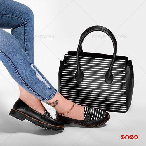 ست کیف و کفش زنانه انزو Enzo مدل N9621 - ست دخترانه
