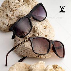 عینک آفتابی مردانه Louis Vuitton مدل G9413 مشکی و قهوه ای