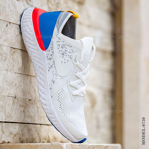 کفش مردانه Nike مدل K9750 - کتانی مردانه نایکی سفید