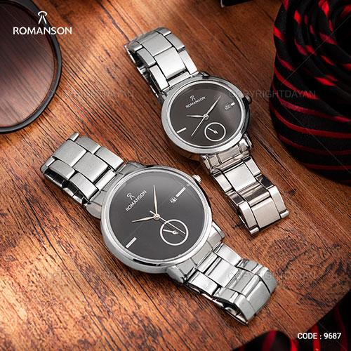 ست ساعت مچی مردانه و زنانه Romanson مدل W8622
