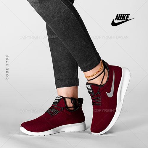 کفش زنانه نایکی Nike مدل V9798 - کتانی دخترانه جگری