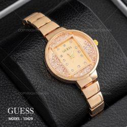 ساعت مچی زنانه Guess مدل ۱۰۴۲۹ رنگ طلایی