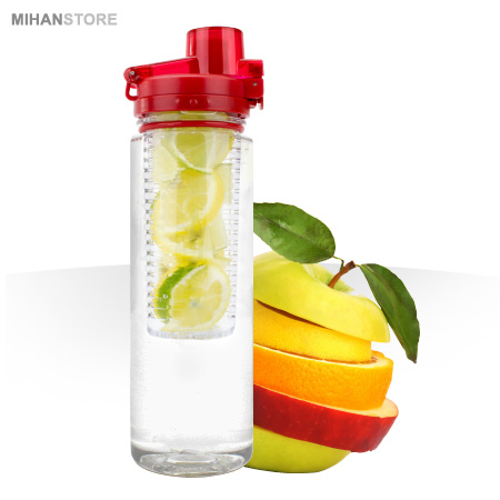 بطری آب با اسانس میوه دتوکس واتر Detox Water
